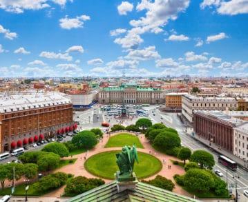 Landausflüge in St. Petersburg