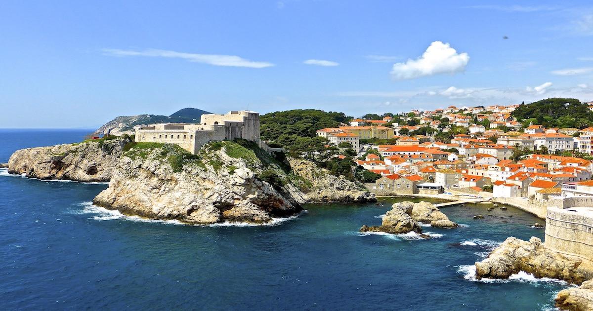 Adria-Landausflüge: Blick auf Dubrovnik