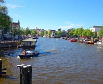 Amsterdam-Landausflüge: Eine Stadt, die am und vom Wasser lebt