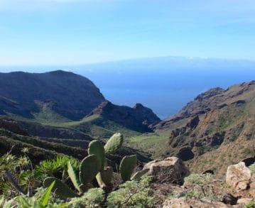 Landausflüge auf La Gomera: Blick über La Gomera