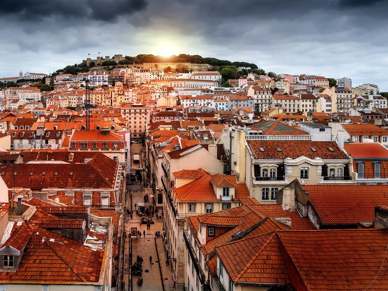 Landausflug in Lissabon: Stimmungsvolles Panorama von Lissabon