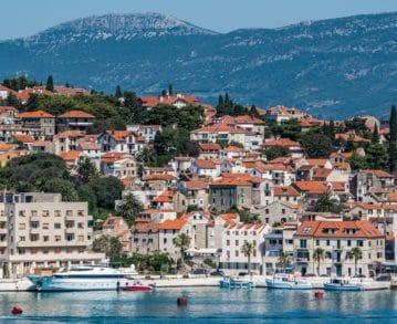 Split-Landausflüge: Blick auf die zweitgrößte Stadt Kroatiens